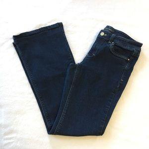 White house black market flare leg jeans